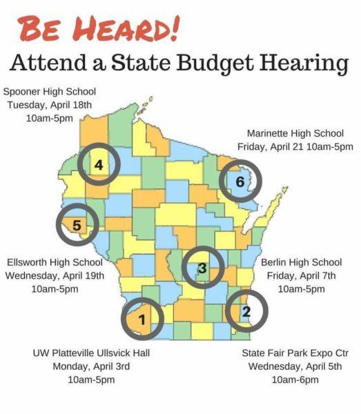 Budget hearings